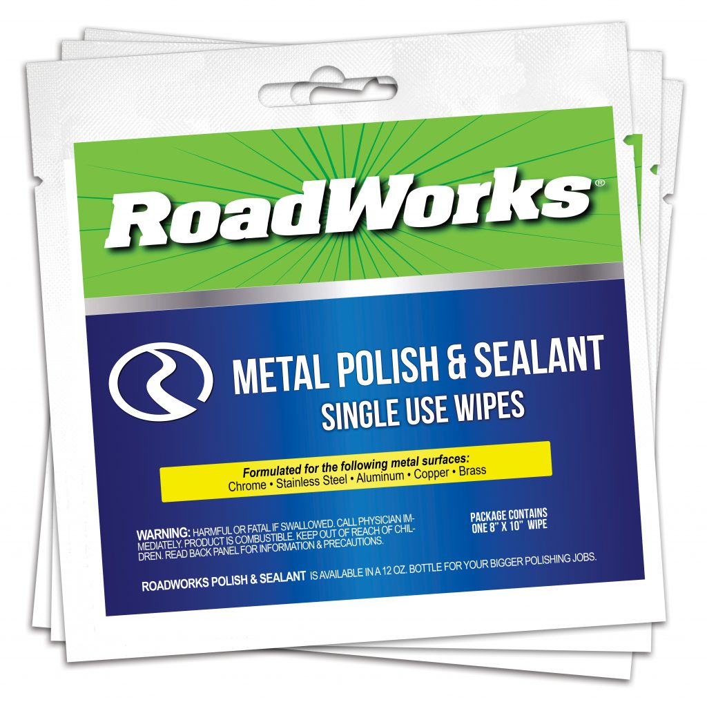RoadWorks Detail Products Single Use Wipes